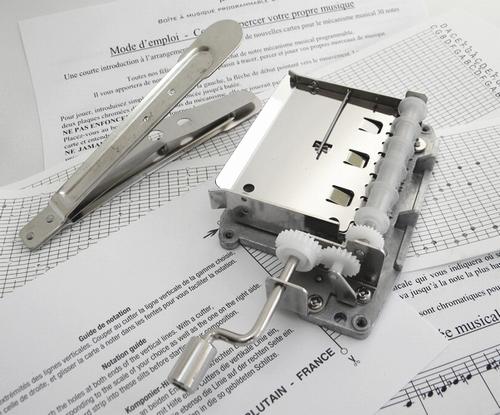 Mécanisme 30 notes avec pince et deux cartes