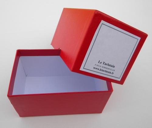 Boîte carton pour 27/29/31 notes modèles  Raffin