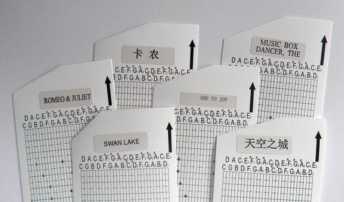 Série de 6 cartes perforées: International
