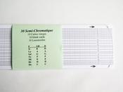 Série de 100 cartes vierges 30 notes