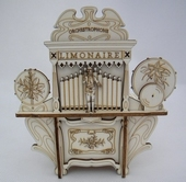 15 Notes Music box  Limonaire without mechanism